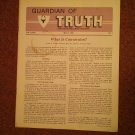 Guardian of Truth Magazine, May 5, 1983  Vol XXVII No 9,  070716981
