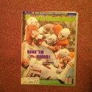 Sports Illustrated, Oct 19, 1991 Texas Corrals Oklahoma  070716994