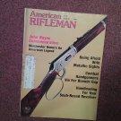 American Rifleman Magazine, Aug 1981, John Wayne Commeratives  0707161020