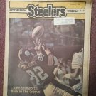 Pittsburgh Steelers Weekly Magazine, October 3, 1987, Stallworth  707161048
