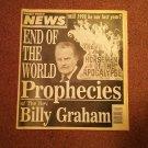 Weekly World News, Jan 6, 1998, Billy Graham  707161067
