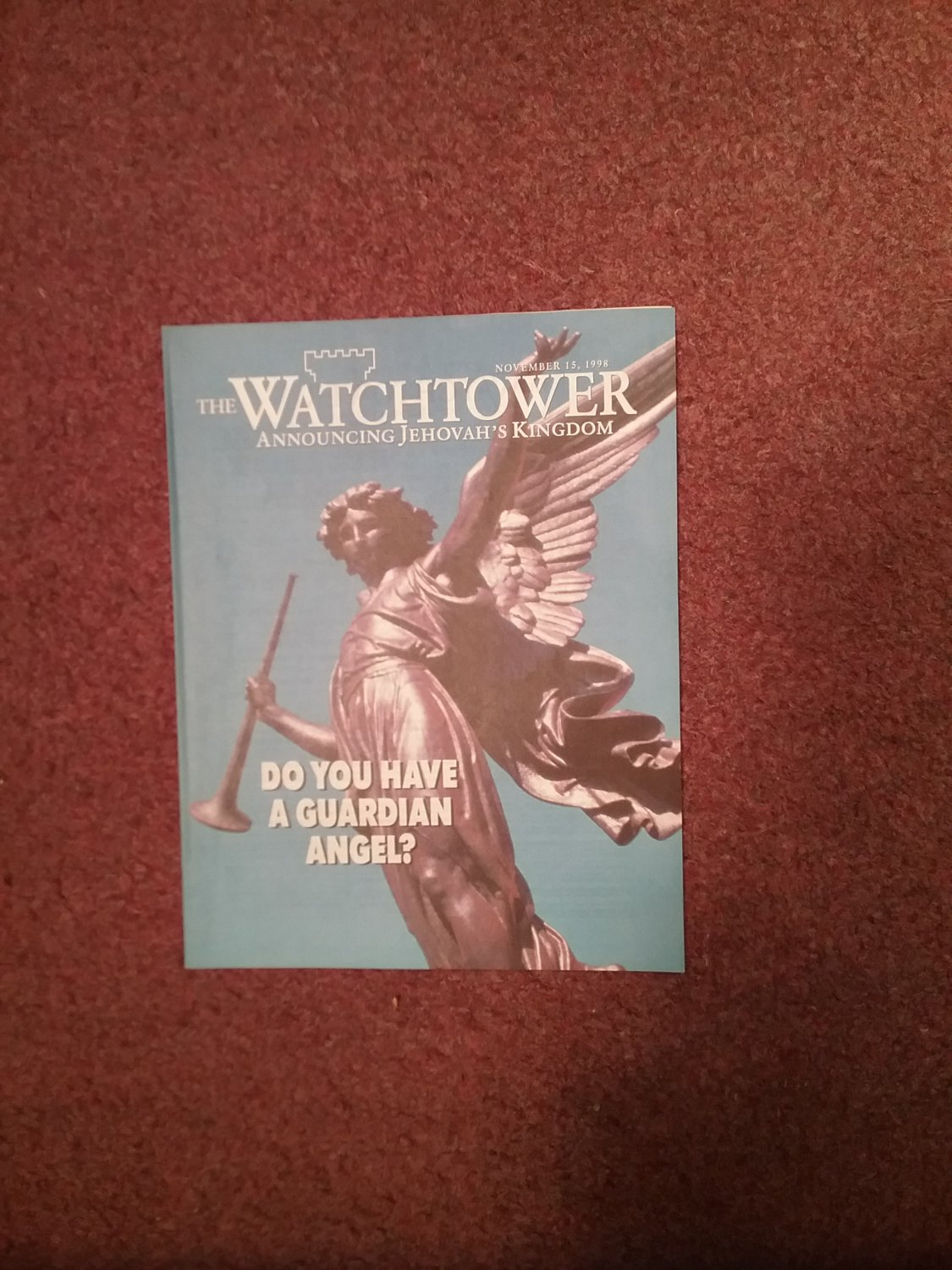The Watchtower Tract November 5, 1998, Guardian Angel 707161096
