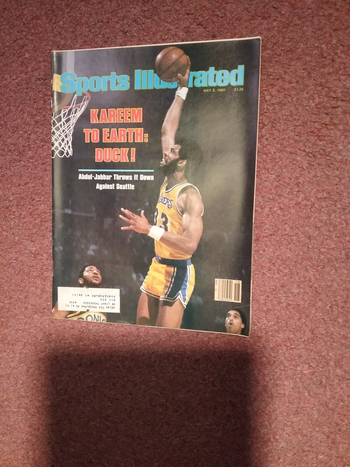 Sports Illustrated Magazine May 5, 1980 Kareem Abdul-Jabbar 0707161147