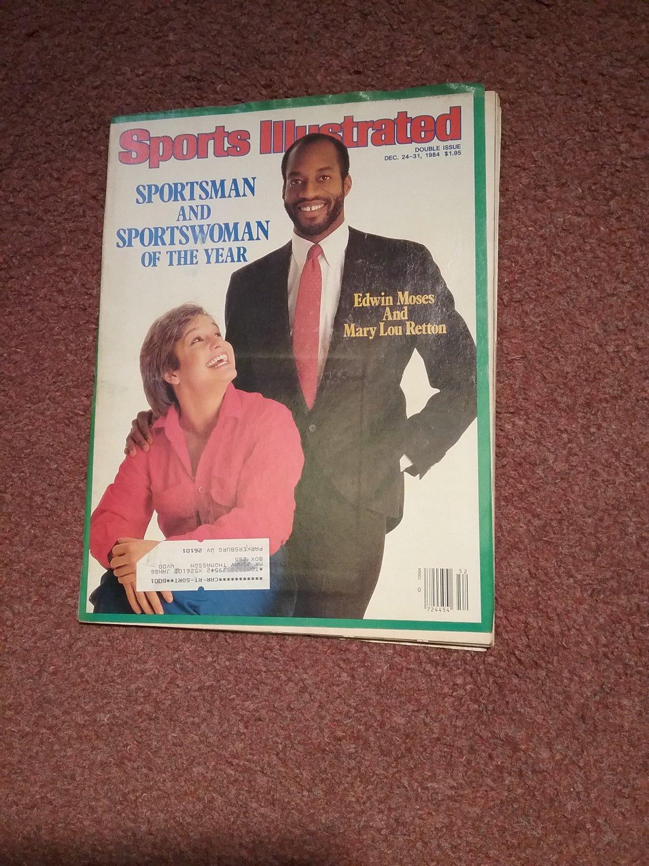 Sports Illustrated Magazine Dec 24-31, 1984, Reton, Moses  0707161205