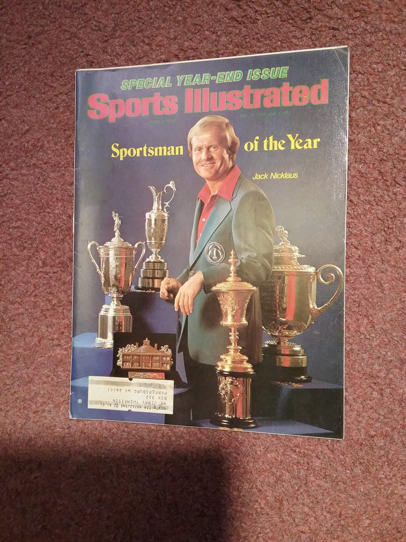 Sports Illustrated MagazineDec 25, 1978 - Jan. 1, 1979 Nickalaus 0707161206