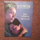 The Watchtower Tract october 15, 2002 Who is Behind All Evil?  707161360