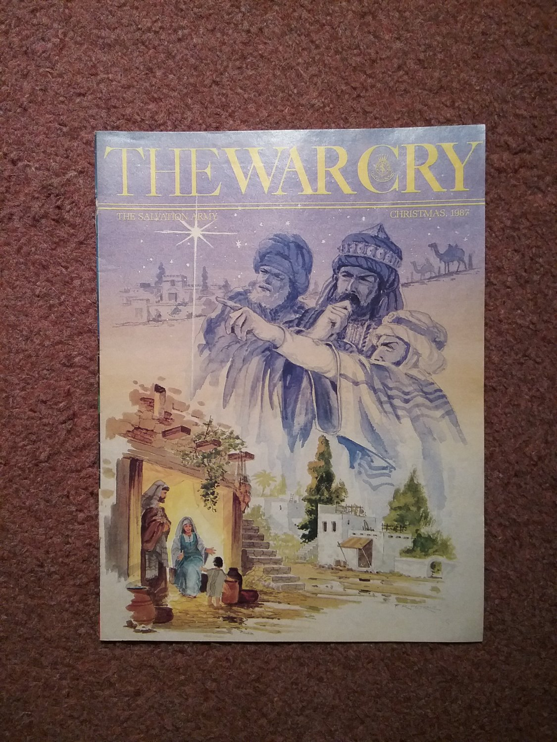 The War Cry, Christmas 1987, The Salvation Army Publication 0707161362