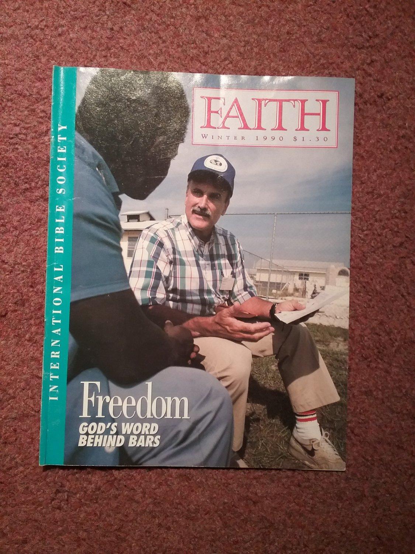 Faith Magazine Winter 1990, Freedom God's Words Behind Bars 0707161363