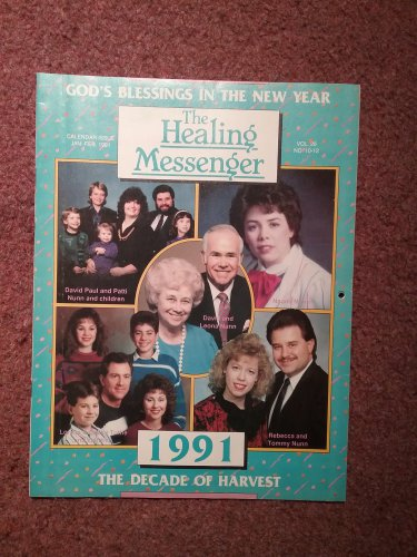 Christian Magazine, The Healing Messenger, Jan-Feb 1991 0707161364
