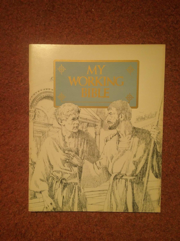 Guideposts, My Working Bible , Workbook,  Epeshians 0707161393