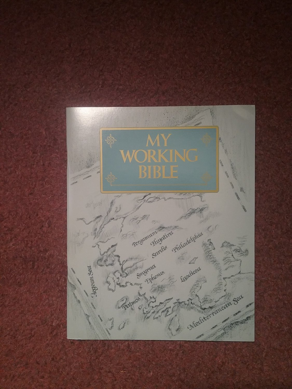 Guideposts, My Working Bible, Workbook,Revelation  0707161398