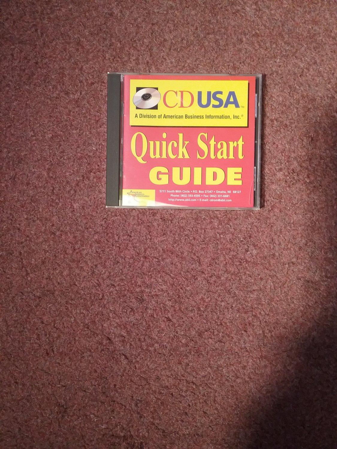 CD USA Quick Start Guide, Business Fax Number CD 0707161422