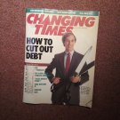Changing Times Magazine April 1988, How to Cut Out Debt 07071691443