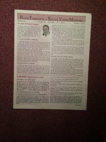 Praise Tabernacle & Kelley Varner Ministries Newsletter Vol. 1 Issue 107071691447