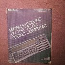 Instruction Manual Problem-Solving on the TRS-80 Pocket Computer 0707161436