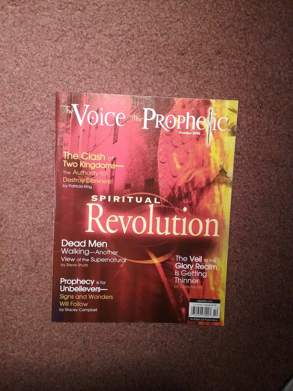 The Voice The Prophetic Magazine, Oct 2006, Dead Men Walking    0707161466
