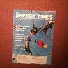 The Energy Times Magazine Sept/Oct 1994 Herbal Medicines 0707161487