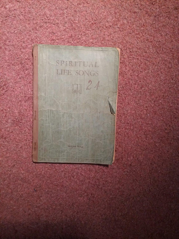 Vintage (Undated) Spirtual Life Songs, 24 Hymnal 707161499
