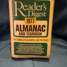 1977 Readers Digest Almanac and Yearbook, Paperback sku0707161532