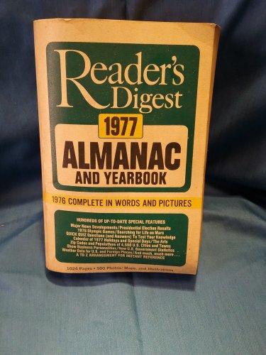 1977 Readers Digest Almanac and Yearbook, Paperback sku0707161532