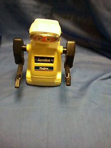 Vintage Acrobot Playtime Products Robot 1986 Battery-Op M09241674