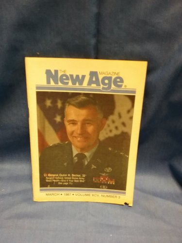 The New Age Magazine March 1987 Vol XCV No 3 Good Health 0707161570