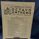 1951 Octavo Anthems No One Like Jesus A268  9707161582