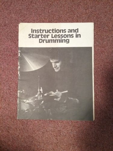 Vintage No Date, Instuctions and Starter Lessons in Drumming 0707161614