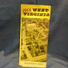 1958 West Virginia Road Map 0707161618