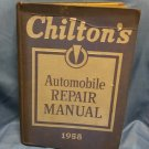 1958 Chiltons Automobile Repair Manual  0707161639