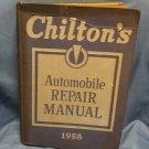 1958 Chiltons Automobile Repair Manual  0707161639