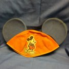 Vintage Mickey Mouse Hat Beanie, plastic blue ears   M09241613