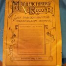 Manufacturer's Record May 3,1900 Southern Railroad and Financial Newspaper
