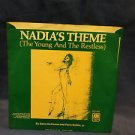 45 AM1856-S Nadia's Theme, The Young and The Restless, Vorzon, Botkin M092416231
