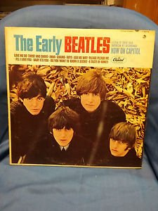 THE EARLY BEATLES orig MONO LP on CAPITOL T-2309, Surface Scratch Good Condition
