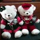 Cute 1998 Snowflake Teddy Couple Tags still on k12051710