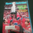 Sports Illustrated Magazine June 2, 1986 Volume 64, No 22 Montreal Canadians