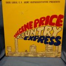 1974 Gene Price Country Music Express Double LP Recruiting Army Radio Program