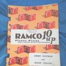 1951 Ramco 10 up Piston Rings and Piston Skirt Expanders Salesman Dealer Catalog