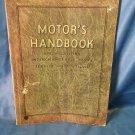 1927 Motor's Handbook Specs Interchangeable Parts Service Manual 14th Edition