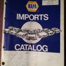 1980 Napa Imports Catalog No 1