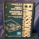 1991 Standard Motor Emissions Parts Guide EC-91 Engine Controls Cars Trucks