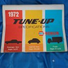 1972 NAPA Echlin Tune-up Specifications Cars Imported Cars Trucks