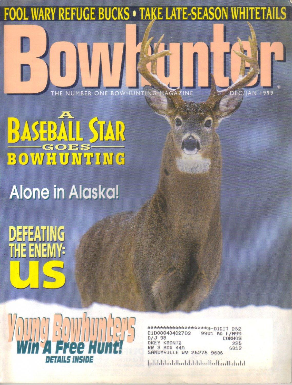 Bowhunter Magazine Dec/Jan 1999 INV1740