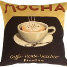 Pillow Decor - Marco Fabiano Collection Mocha Coffee Pillow