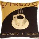 Pillow Decor - Marco Fabiano Collection Espresso Coffee Pillow