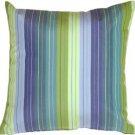 Pillow Decor - Sunbrella Seville Seaside 20x20 Outdoor Pillow
