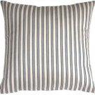 Pillow Decor - Catalina Ticking Blue 20X20 Throw Pillow  - SKU: LD1-0003-01-20