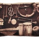 Pillow Decor - Musical Instruments Throw Pillow 12x20  - SKU: PD2-0062-01-92