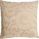 Pillow Decor - Brackendale Ferns Cream Throw Pillow  - SKU: SD1-0001-01-22